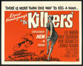 """Movie Posters:Crime, The Killers (Universal, 1964). Half Sheet (22"""" X 28""""). Crime.. ..."""