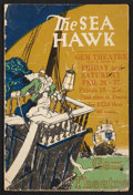 "Movie Posters:Adventure, The Sea Hawk (First National, 1924). Program (Multiple Pages, 6"" X9""). Adventure.. ..."