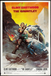 """The Gauntlet Lot (Warner Brothers, 1977). Posters (2) (40"""" X 60""""). Action. ... (Total: 2 Items)"""