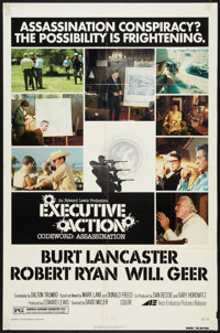 """Executive Action (Avco Embassy, R-1976). One Sheet (27"""" X 41""""). Thriller"""