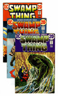 Bronze Age (1970-1979):Horror, Swamp Thing #1-10 Group (DC, 1972-74) Condition: Average FN....(Total: 12 Comic Books)