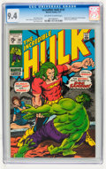 Bronze Age (1970-1979):Superhero, The Incredible Hulk #141 (Marvel, 1971) CGC NM 9.4 Off-white to white pages....
