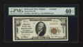 National Bank Notes:West Virginia, Richwood, WV - $10 1929 Ty. 1 Cherry River NB Ch. # 13627. ...