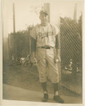 Baseball Collectibles:Photos, 1959 Gil Hodges Signed Original Photograph....