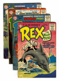 Silver Age (1956-1969):Adventure, Adventures of Rex the Wonder Dog #27-29 and 31 Group (DC, 1956-57) Condition: Average VG.... (Total: 4 Comic Books)