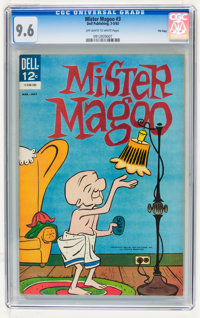 Mr. Magoo #3 File Copy (Dell, 1963) CGC NM+ 9.6 Off-white to white pages