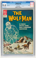 Silver Age (1956-1969):Horror, Movie Classics: Wolfman #nn File Copy (Dell, 1964) CGC NM 9.4Off-white pages....