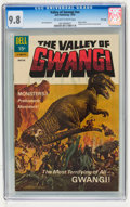 Silver Age (1956-1969):Horror, Movie Classics: The Valley of Gwangi #nn File Copy (Dell, 1969) CGCNM/MT 9.8 Off-white to white pages....