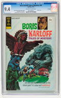 Bronze Age (1970-1979):Horror, Boris Karloff Tales of Mystery #50 File Copy (Gold Key, 1972) CGCNM 9.4 Off-white to white pages....