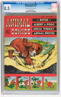 Golden Age (1938-1955):Funny Animal, Animal Comics #29 File Copy (Dell, 1947) CGC VF+ 8.5 Off-white towhite pages....