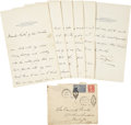 Autographs:Military Figures, Douglas MacArthur Autograph Letter Signed to Future Wife Louise Cromwell Brooks, with Related Archive. This incredible archi...
