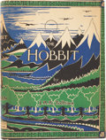 Books:First Editions, J. R. R. Tolkien. The Hobbit or There and Back Again.London: George Allen & Unwin Ltd., [1937].. First editio...
