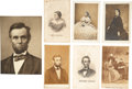 Autographs:U.S. Presidents, Lincoln Family Images (7). An outstanding lot of images featuringPresident Lincoln and other family members, all undated. C...(Total: 7 Items)