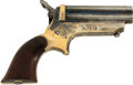 Military & Patriotic:Civil War, Very Fine and Early Sharps Model 1C Four Barrel .22 Caliber Pepperbox, #7863. ...