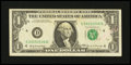 Error Notes:Ink Smears, Fr. 1903-D $1 1969 Federal Reserve Note. Fine-Very Fine.. ...