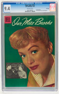Silver Age (1956-1969):Romance, Four Color #751 Our Miss Brooks - File Copy (Dell, 1956) CGC NM 9.4Off-white pages....