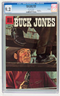 Silver Age (1956-1969):Western, Four Color #733 Buck Jones - File Copy (Dell, 1956) CGC NM- 9.2Off-white pages....