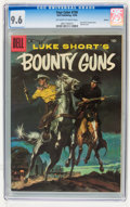 Silver Age (1956-1969):Western, Four Color #739 Luke Short's Bounty Guns - Circle 8 pedigree (Dell,1956) CGC NM+ 9.6 Off-white to white pages....