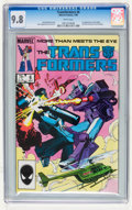 Modern Age (1980-Present):Science Fiction, Transformers #6 (Marvel, 1985) CGC NM/MT 9.8 White pages....
