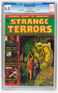Golden Age (1938-1955):Horror, Strange Terrors #1 (St. John, 1952) CGC FN 6.0 Off-white pages....