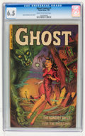 Golden Age (1938-1955):Horror, Ghost #1 (Fiction House, 1951) CGC FN+ 6.5 Cream to off-whitepages....