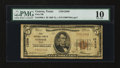 National Bank Notes:Texas, Conroe, TX - $5 1929 Ty. 1 First NB Ch. # 12809. ...