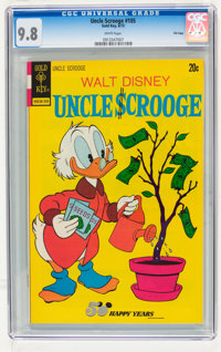 Uncle Scrooge #105 File Copy (Gold Key, 1973) CGC NM/MT 9.8 White pages