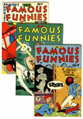 Golden Age (1938-1955):Miscellaneous, Famous Funnies File Copies Group (Eastern Color, 1946-47) Condition: Average VF/NM.... (Total: 7 Comic Books)