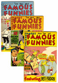 Golden Age (1938-1955):Miscellaneous, Famous Funnies File Copies Group (Eastern Color, 1949-52) Condition: Average VF/NM.... (Total: 9 Comic Books)