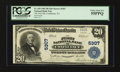 National Bank Notes:Pennsylvania, Confluence, PA - $20 1902 Plain Back Fr. 659 The First NB Ch. #5307. ...