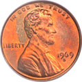 Lincoln Cents, 1969-S 1C Doubled Die MS64 Red and Brown PCGS. FS-101....