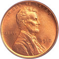 Lincoln Cents, 1912 1C MS67 Red PCGS....