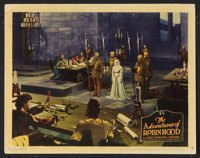 "The Adventures of Robin Hood (Warner Brothers, 1938). Lobby Card (11"" X 14""). Adventure"