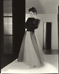 Photographs:20th Century, HORST P. HORST (American/German, 1906-1999). Untitled (FashionShot for Vogue), 1942. Gelatin silver, warm tone double w...