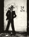 Photographs:Contemporary, HANK O'NEAL (American, b. 1940). Shadowman, 1982. Gelatinsilver, 1982. Paper: 19 x 13 inches (48.3 x 33 cm). Image: 16-...