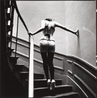 ELLEN VON UNWERTH (German, b. 1954) Fashion Study Gelatin silver Paper: 15-7/8 x 12 inches (40.3