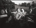 Photographs:Contemporary, SALLY MANN (American, b. 1951). Luncheon in the Grasses,1991. Gelatin silver, 1991. Paper: 8 x 10 inches (20.3 x 25.4 c...
