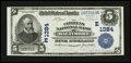 National Bank Notes:Maryland, Baltimore, MD - $5 1902 Date Back Fr. 590 The Citizens NB Ch. #(E)1384. ...