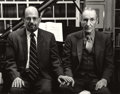 Photographs:Contemporary, HANK O'NEAL (American, b. 1940). Allen Ginsberg and William S.Burroughs, 1984. Gelatin silver, 1984. Paper: 11 x 14 inc...