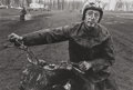 Photographs:Contemporary, DANNY LYON (American, b. 1942). Racer, Schereville, Indiana,1965. Gelatin silver, 1981. Paper: 15-7/8 x 19-7/8 inches (...