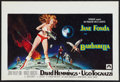 "Movie Posters:Science Fiction, Barbarella (Paramount, 1968). Belgian (14.25"" X 21.25""). ScienceFiction.. ..."