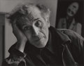 Photographs:20th Century, PHILIPPE HALSMAN (American, 1906-1979). Marc Chagall, 1950.Gelatin silver. Paper: 11 x 13-7/8 inches (27.9 x 35.2 cm). ...