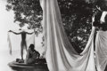 Photographs:Contemporary, MARC RIBOUD (French, b. 1923). Bénarès India, 1956. Gelatinsilver, printed later. Paper: 11 x 14 inches (27.9 x 35.6 cm...