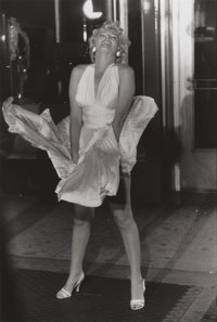 GARRY WINOGRAND (American, 1928-1984) Marilyn Monroe on the set of the Seven Year Itch (from 15 Big Shots)<