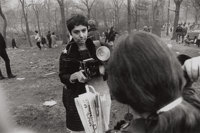 GARRY WINOGRAND (American, 1928-1984) Diane Arbus, Love-In, Central Park, New York City (from 15 Big Shots)