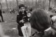 GARRY WINOGRAND (American, 1928-1984) Diane Arbus, Love-In, Central Park, New York City (from 15 Big Shots), 1969 Gela...