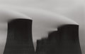 Photographs:Contemporary, MICHAEL KENNA (British/American, b. 1953). Ratcliffe PowerStation, Plate 28, Study 2, 1985. Sepia and selenium tonedge...