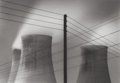 Photographs:Contemporary, MICHAEL KENNA (British/American, b. 1953). Ratcliffe PowerStation, Plate 42, Study 9, 1985. Sepia and selenium tonedge...