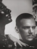 Photographs:20th Century, GEORGE HURRELL (American, 1904-1992). Douglas Fairbanks,1933. Gelatin silver, 1979. 48 x 36 inches (121.9 x 91.4 cm). R...