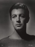 Photographs:20th Century, GEORGE HURRELL (American, 1904-1992). Robert Taylor, 1936.Gelatin silver, 1979. 48 x 36 inches (121.9 x 91.4 cm). Recto...